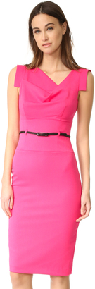 Black Halo Jackie O Belted Dress $345 thestylecure.com