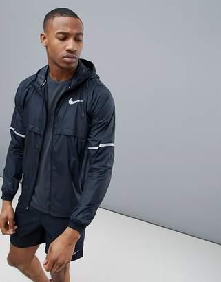 Nike Running Shield Jacket In Black 857856-010