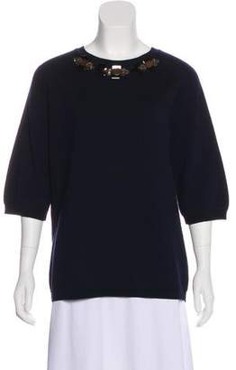 Marni Virgin Wool Embellished Sweater