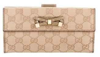 Gucci GG Canvas Princy Wallet