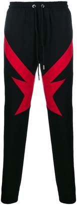 Givenchy colour-block track trousers