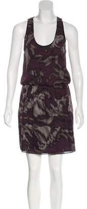 Robert Rodriguez Sleeveless Printed Dress