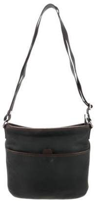 Loewe Leather Messenger Bag green Leather Messenger Bag