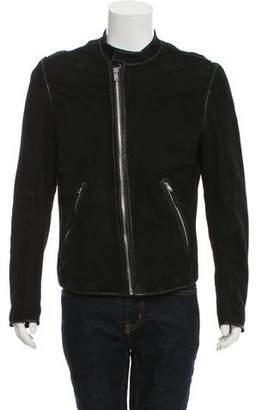 BLK DNM Suede Raw Seam Jacket