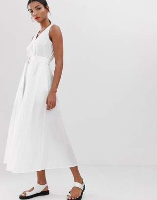 Max & Co. midaxi dress with d-ring belt