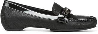 Donald J Pliner FATEMA, Distressed Metallic Loafer