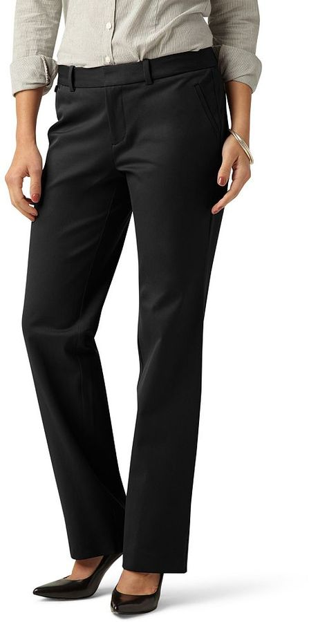 Dockers metro slimming straight-leg pants - women's