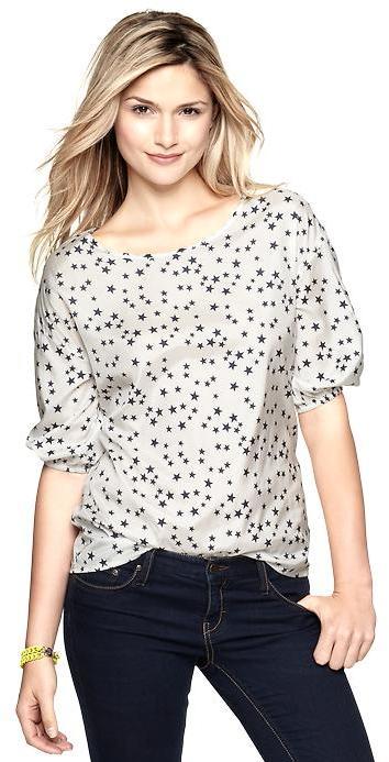 Gap + Alice Ritter star shirt