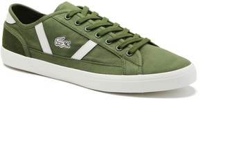 4893e2175a69 Lacoste Men s Sideline Canvas and Leather Sneakers