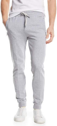 Ermenegildo Zegna Basic Cotton Jogger Pants