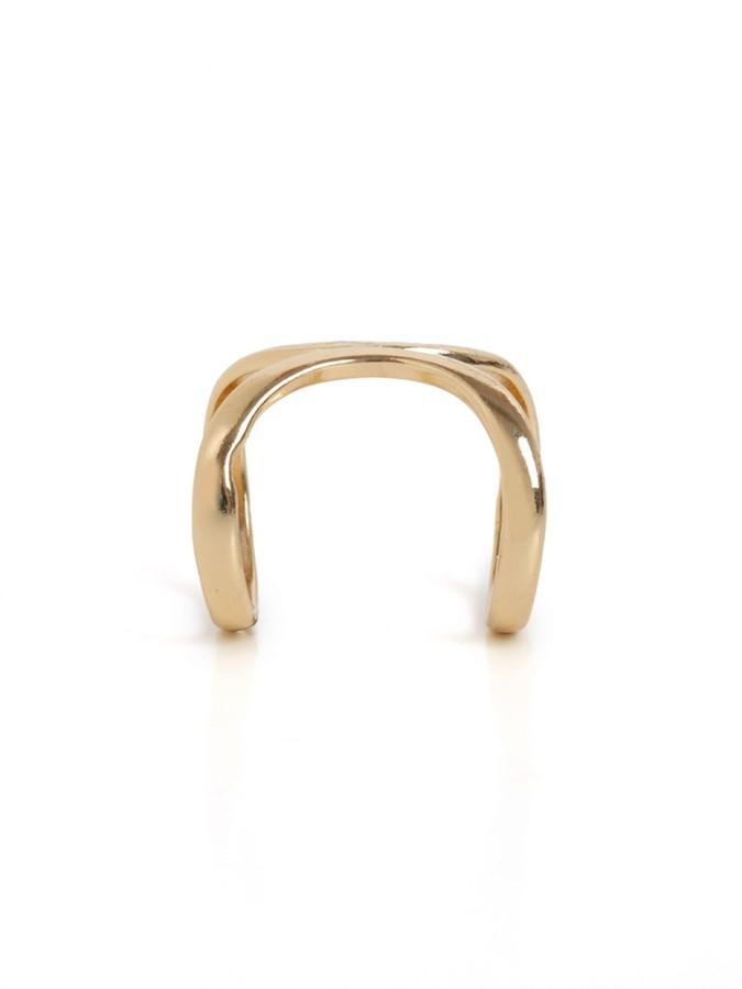 BaubleBar Single Cage Ring
