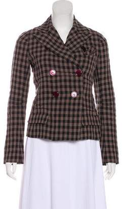 Sonia Rykiel Linen Long Sleeve Jacket