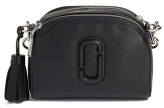 Marc Jacobs Small Shutter Leather Camera Bag - Black $325 thestylecure.com