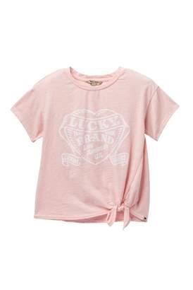 Lucky Brand Livia Graphic Tee (Big Girls)