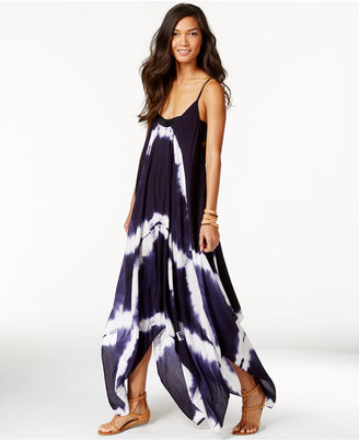 Raviya Tie-Dye Handkerchief Maxi Dress Cover-Up $54 thestylecure.com