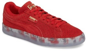 Women's Puma Suede Classic Perforated Sneaker $84.95 thestylecure.com