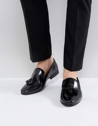WALK LONDON Walk London Strutt Hi Shine Tassel Loafers