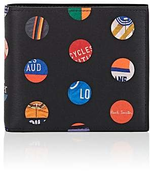 Paul Smith Men's Cycle Dot Leather Billfold