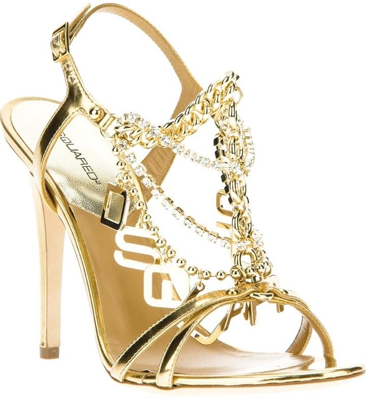 DSquared Dsquared2 chain strap sandal