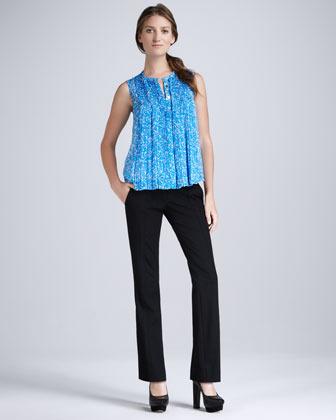 Diane von Furstenberg Carissa Straight-Leg Pants