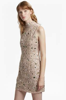 French Connenction Eloise Mirrors High Neck Dress
