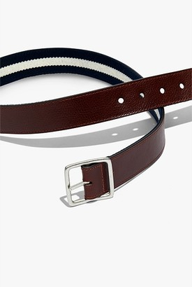 Country Road Textured Reversible Belt