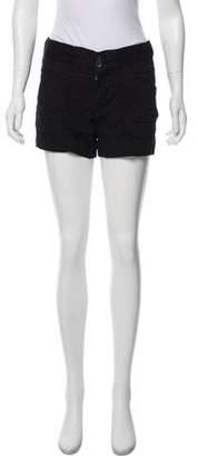 James Perse Mid-Rise Mini Shorts