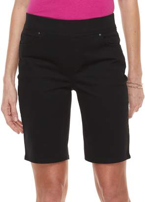 Croft & Barrow Women's Pull-On Bermuda Shorts
