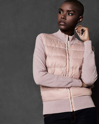 Ted Baker XINTA Puffer front knit jacket