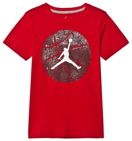 Air Jordan Red Jumpman Graphic T-Shirt