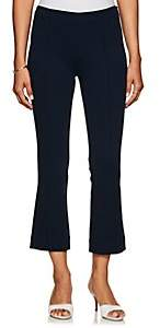 Lisa Perry Women's Ponte Crop Flared Pants - Navy