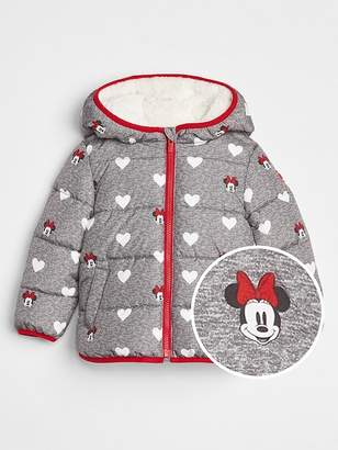 Gap babyGap   Disney Minnie Mouse Puffer Jacket