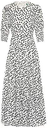 Rixo Agyness cotton and silk maxi dress