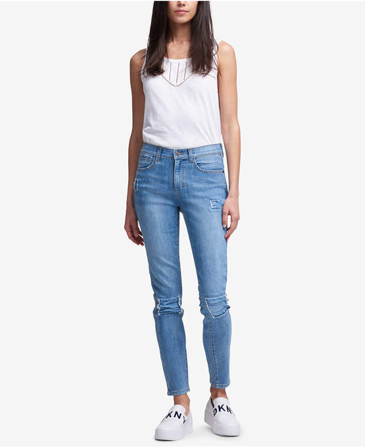 Studded Skinny Jeans, Created for Macy's
