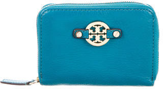 Tory Burch Tory Burch Logo-Embellished Compact Wallet