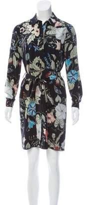 Gucci Floral Print Mini Dress