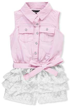 Dollhouse Little Girls' Romper - , 5-6