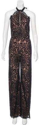 Alexis Flared Lace Jumpsuit