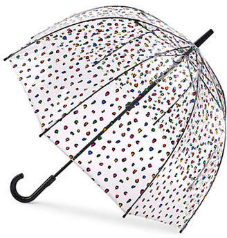 Fulton Birdcage Leopard Umbrella