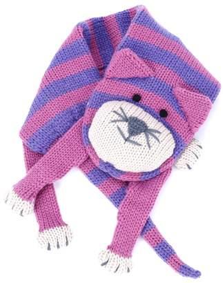Peppercorn Kids Stripe Cat Scarf ( snap closure)