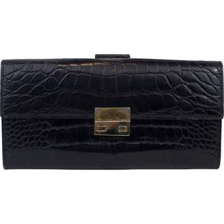 Gucci Black Patent leather Wallets
