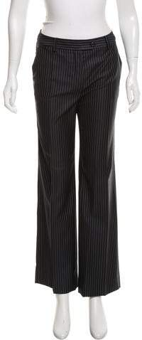 Christian Dior Mid-Rise Wide-Leg Pants