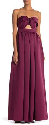 Jay Godfrey Mirabel Strapless Sweetheart A-Line Gown