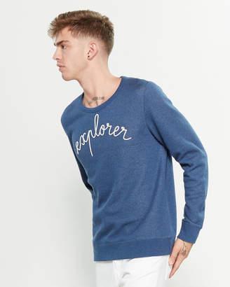 Maison Labiche Navy Explorer Sweatshirt