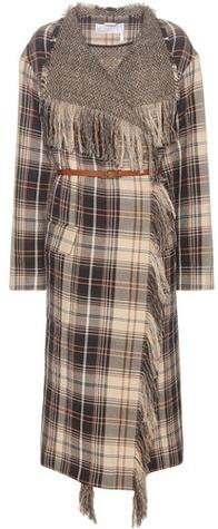 Chloé Chloé Wool and cotton coat