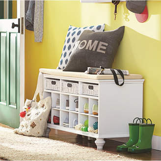 """Co Darby Home 21.75"""" Traditional 6 Pair Shoe Storage Bench"""