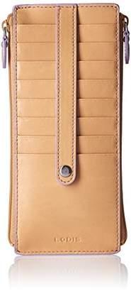 Lodis Women's Audrey RFID Joan Double Zip Card Case