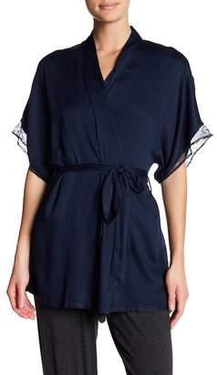 Joe Fresh Lace Trim Robe