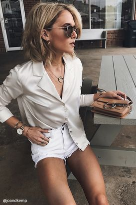 FOREVER 21+ Satin Button-Down Shirt $17.90 thestylecure.com