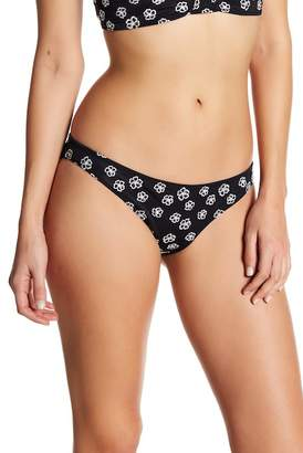 For Love & Lemons Low Rise Embroidered Bikini Bottoms